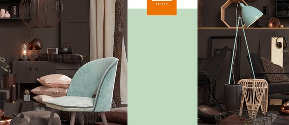 RAL Farbsysteme - Farbe dusty mint