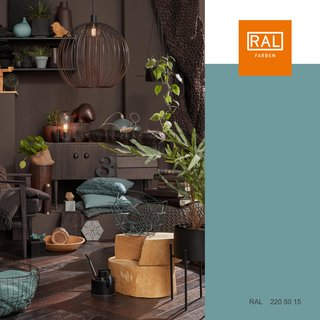 RAL Farbsysteme - Farbe light teal