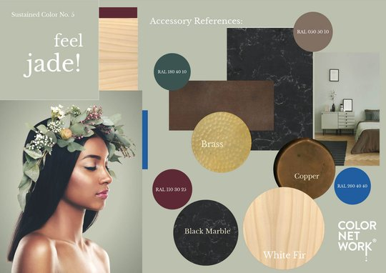 Colornetwork - Colorstory - feel jade!