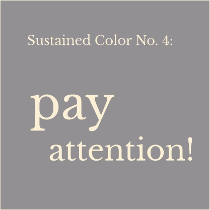 Colornetwork - Colorstory - pay attention!